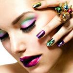 Nagelbehandlingar - Nagelglitter - Nagelsalong